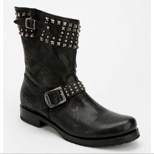Frye Veronica Studded Biker Boot 8